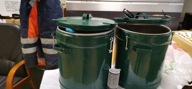 Для коммунальщиков в Лианозове организованы пункты питания и пункт обогрева