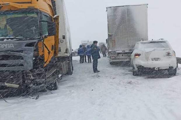 В Ростовской области в аварии с шестью автомобилями погибли два человека