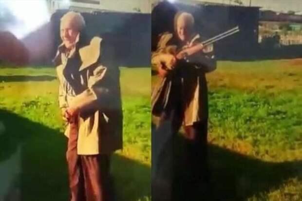 Взбесившийся из-за постоянного шума и детского плача дед расстрелял семью соседей в Кузбассе (2 фото + 2 видео)