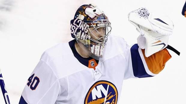 Варламов в матче НХЛ с «Бостоном» оформил второй шатаут подряд