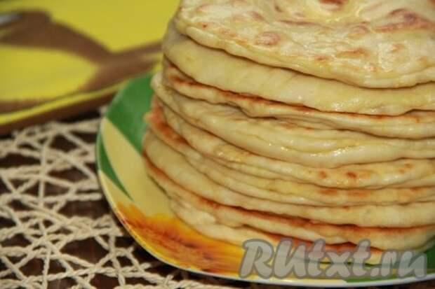 Хачапури с сыром по-быстрому