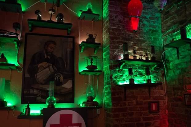 Ресторан музей Гасова лямпа (Керосиновая лампа), Львов