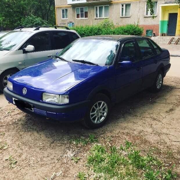 Идеальный автомобиль для прагмата - VW Passat B3