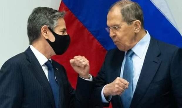 Блинкен на переговорах в Рейкьявике не предоставил доказательств тех претензий, которые США выдвигают в адрес РФ, считает Лавров