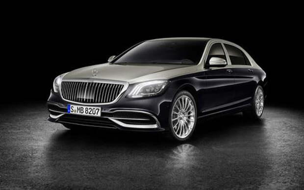 На радость олигархам: рассекречен обновленный Mercedes-Maybach S-класса