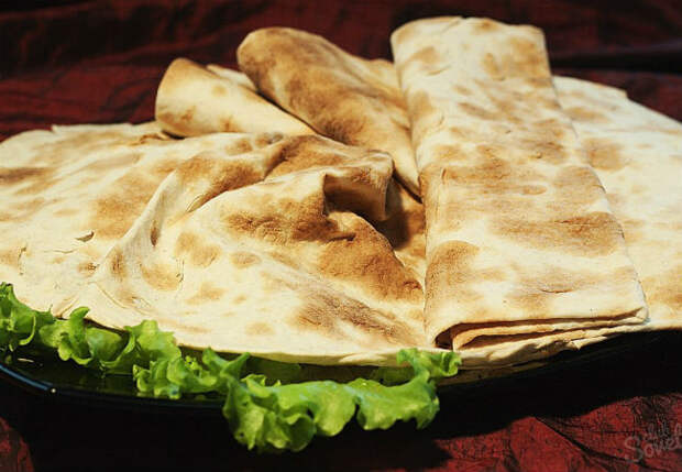 Армянский лаваш: готовим дома