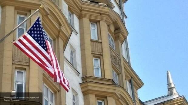 Автомобилист прорвался в резиденцию посла США в Москве
