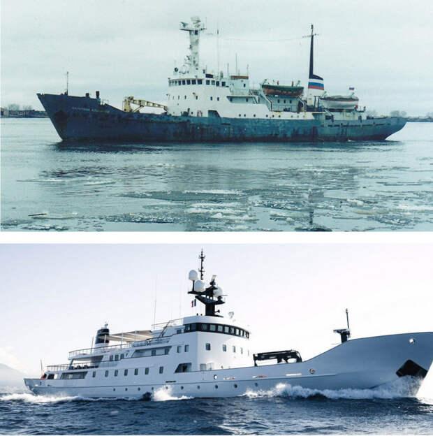 Вот так советские корабли стали яхтами для миллиардеров