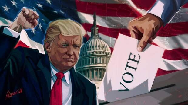 Трамп раскритиковал Wall Street Journal за статью о лидерстве Байдена на выборах