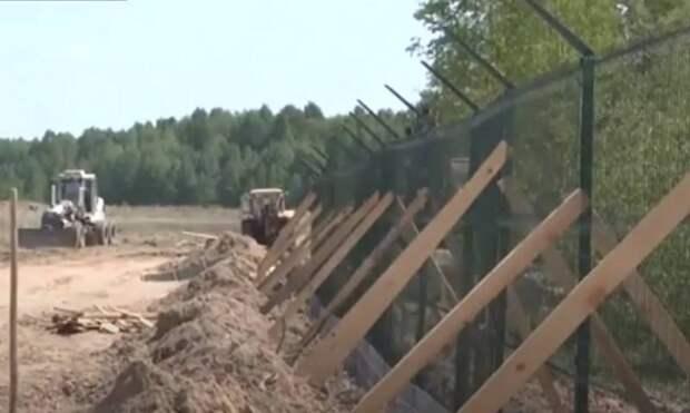 Киев опять перенёс окончание строительства стены на границе с Россией