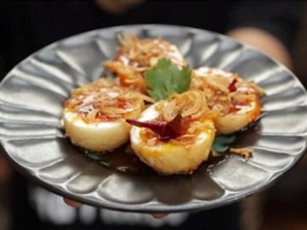 Салат из яиц — Рецепты Джейми Оливера