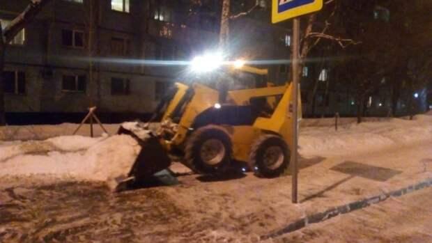 Сроки вывоза сугробов с улиц в Лианозове зависят от интенсивности снегопада