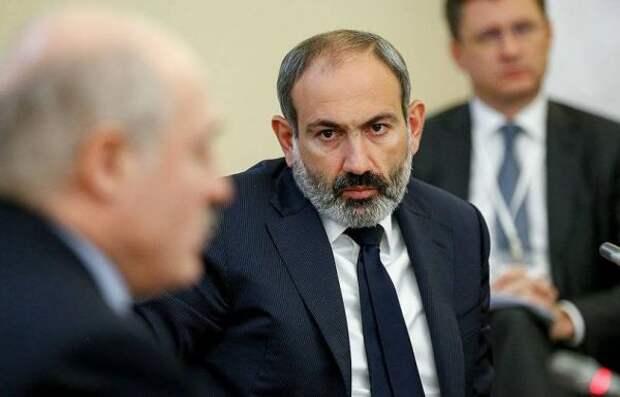 Пашинян иЛукашенко обсудили внешние угрозы для Армении иБелоруссии