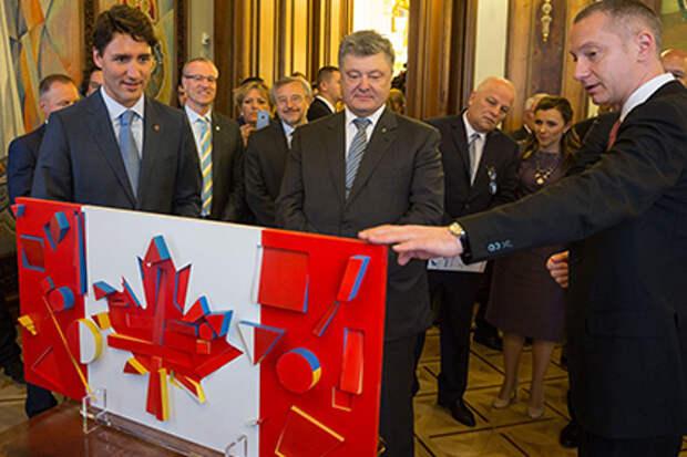 Сказание о том, как украинские колонисты Канаду основали