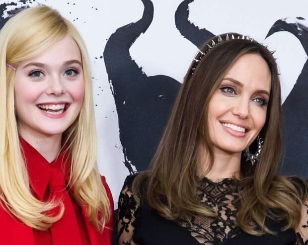 Анджелина Джоли рассказала об отношениях с Эль Фаннинг