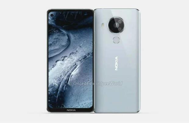 Смартфон Nokia 7.3 появился на рендерах и видео