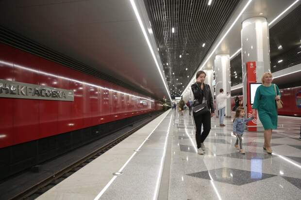 Станция новой Некрасовской ветки метро / Фото: Артур Новосильцев