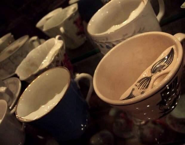 Угадайте, для чего нужна была эта чашка?