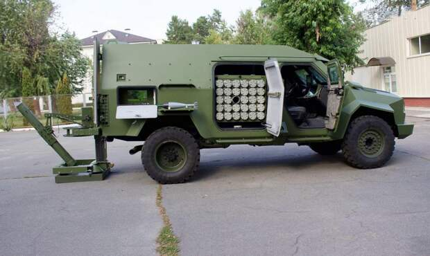 Новейшие украинские самоходные минометы оказались непригодны для стрельбы