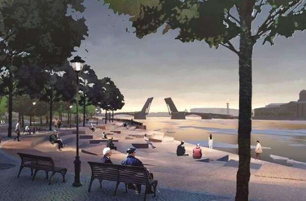 В Петербурге заморозили проект парка «Тучков буян», несмотря на обещания Смольного