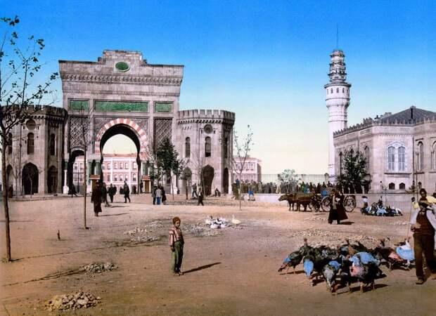 Цветные открытки Константинополя 5