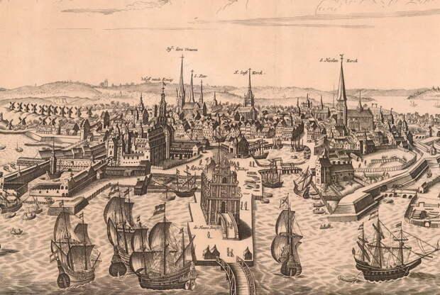 Гавань Копенгагена, XVI век - Морская политика Ивана Грозного: дипломатические игры | Warspot.ru