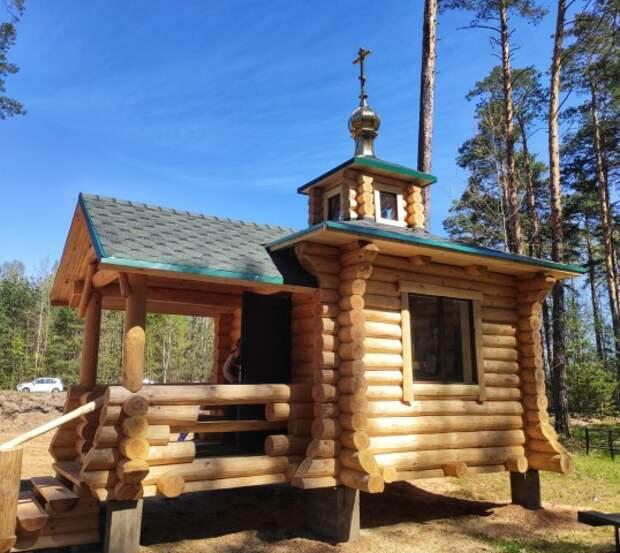 Епископ Серафим совершил освящение часовни деревни Ухлясть Быховского района.