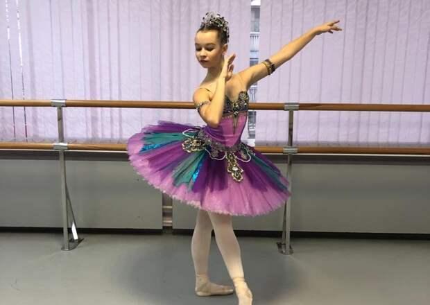 Юная балерина из СВАО выиграла грант мэра Москвы