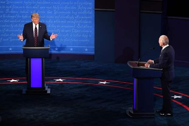 Дональд Трамп и Джо Байден. Фото: Kevin Dietsch – Pool via CNP/Consolidated News Photos/www.globallookpress.com
