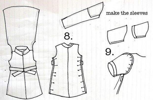 Хотите сшить симпатичные наряды из ненужных рубашек - смотрите подборку идей.