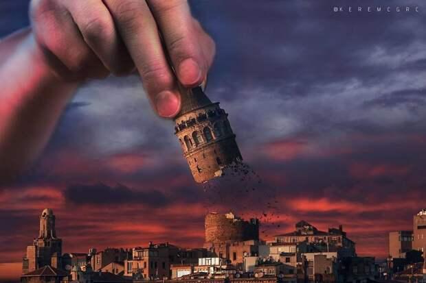 Сюрреалистические фотоманипуляции турецкого фотохудожника Керема Джигерджи, ч.2