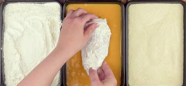 Фаршируем куриную грудку сыром: сочнее любых котлет