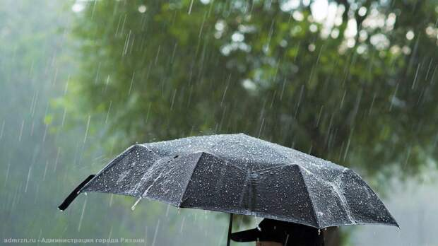 Липчан предупредили о дождях с грозами