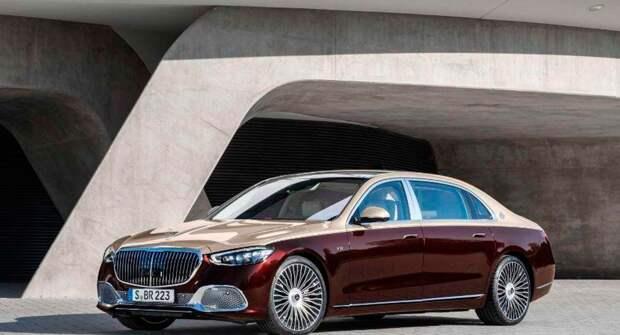 Седан Mercedes-Maybach S-Class нового поколения получил двигатель V12