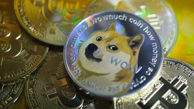 Суточный рост Dogecoin составил 55%