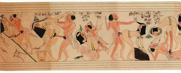 Ученые показали Туринский папирус, который 150 лет прятали из-за порнографических сцен