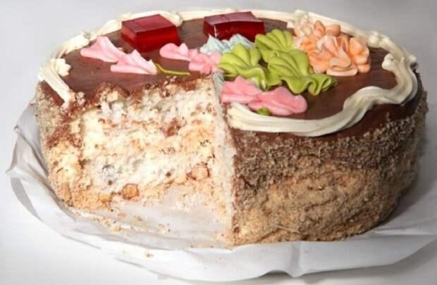 «Киевский торт» назвали уникальным украинским десертом