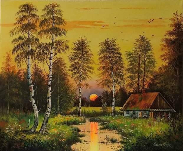 художник Zesław Szwajkosz картины - 16