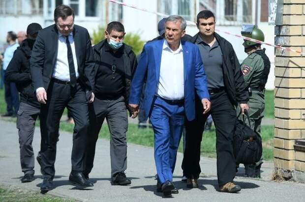 Президент Татарстана прокомментировал стрельбу в школе в Казани