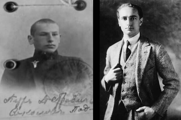 Ученик Петр Соколов и его шпион-наставник Пол Дюкс.