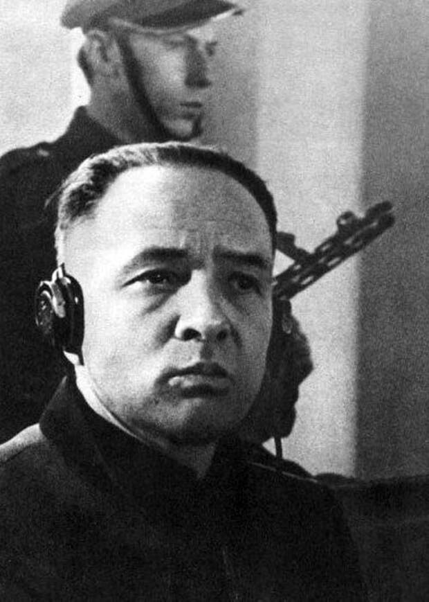 Рудольф Хесс, комендант лагеря Аушвиц с 1940 по 1943 год. Нюрнбергский процесс. Фото: wikipedia.org