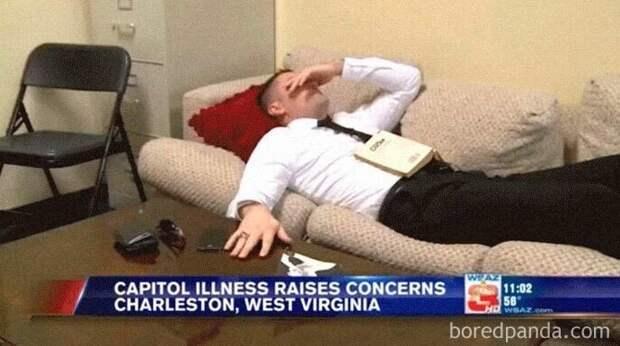 Законодатели из Западной Вирджинии (США) слегли с расстройством желудка, выпив непастеризованного молока. Они выпили его, чтобы отпраздновать принятие закона о продаже сырого молока