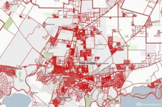 Особенности публичной кадастровой карты