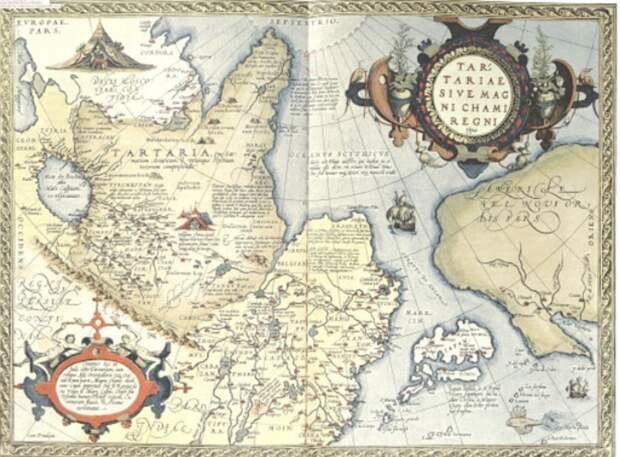 Тартария русская земля!