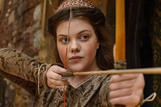 Джорджи в роли Маргариты Тюдор. Взято из общего доступа в интернет.