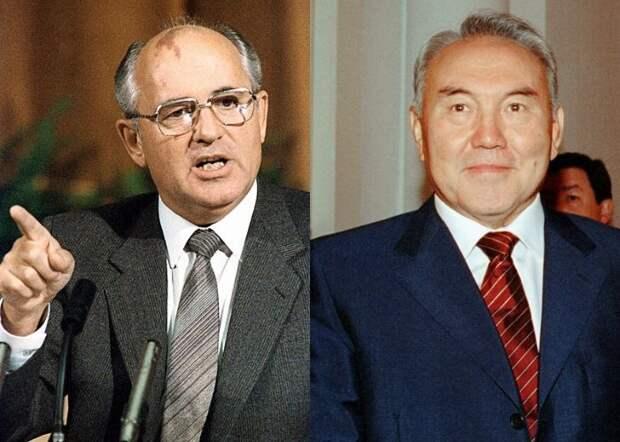 Как Горбачёв хотел назначить Назарбаева премьер-министром СССР