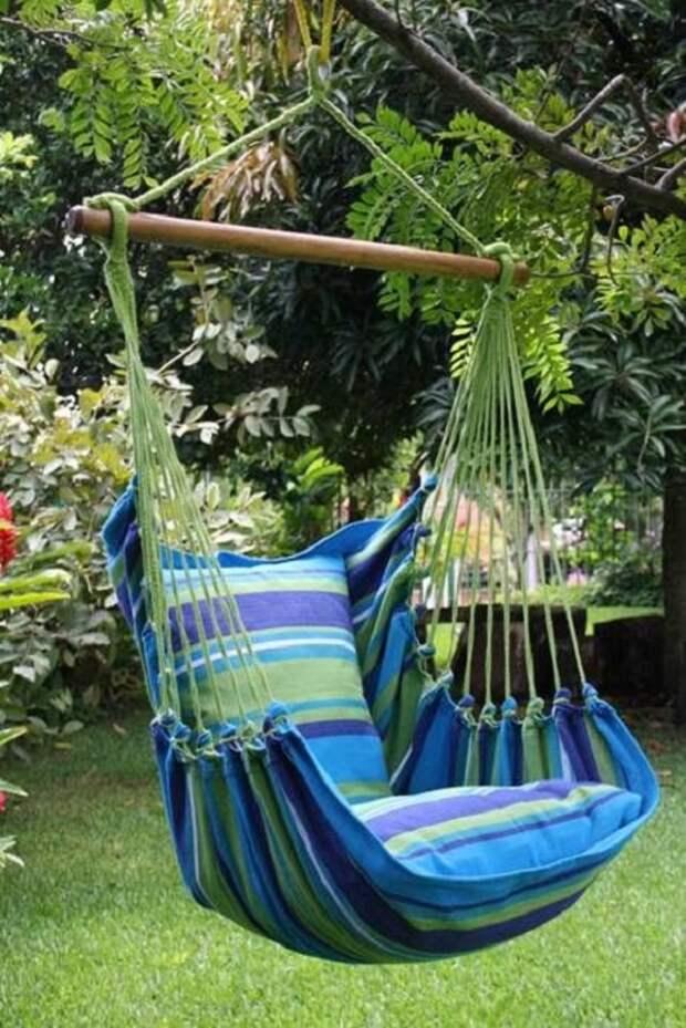 Качели — особая зона отдыха для всей семьи.