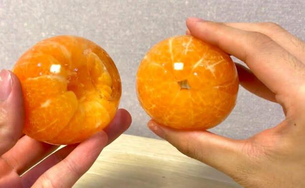Окунаем мандарины в желе. Десерт вкуснее мороженого без особых усилий