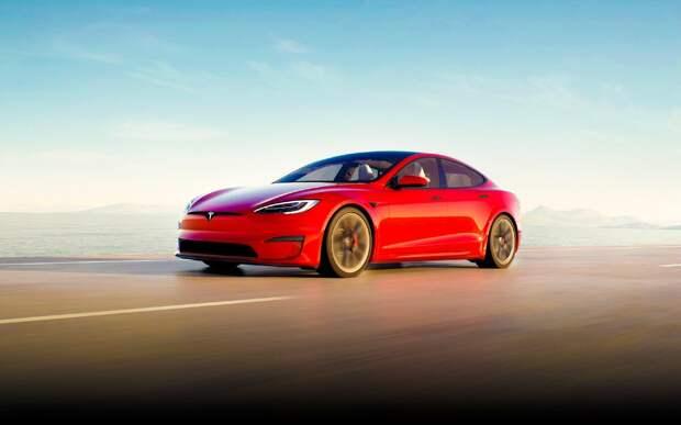 Новая Tesla Model S Plaid характеристики, цена и срок выпуска