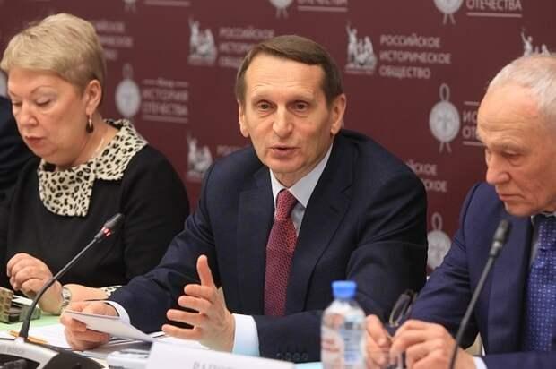 Нарышкин заявил о нежелании Британии развивать диалог с Россией